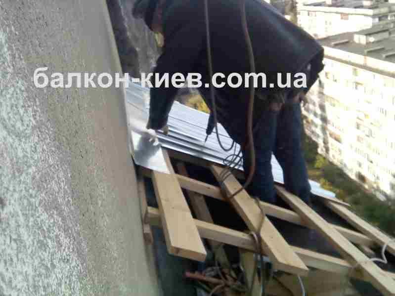 Купить крыша балкона из профнастила. монтаж. киев. - киев - .